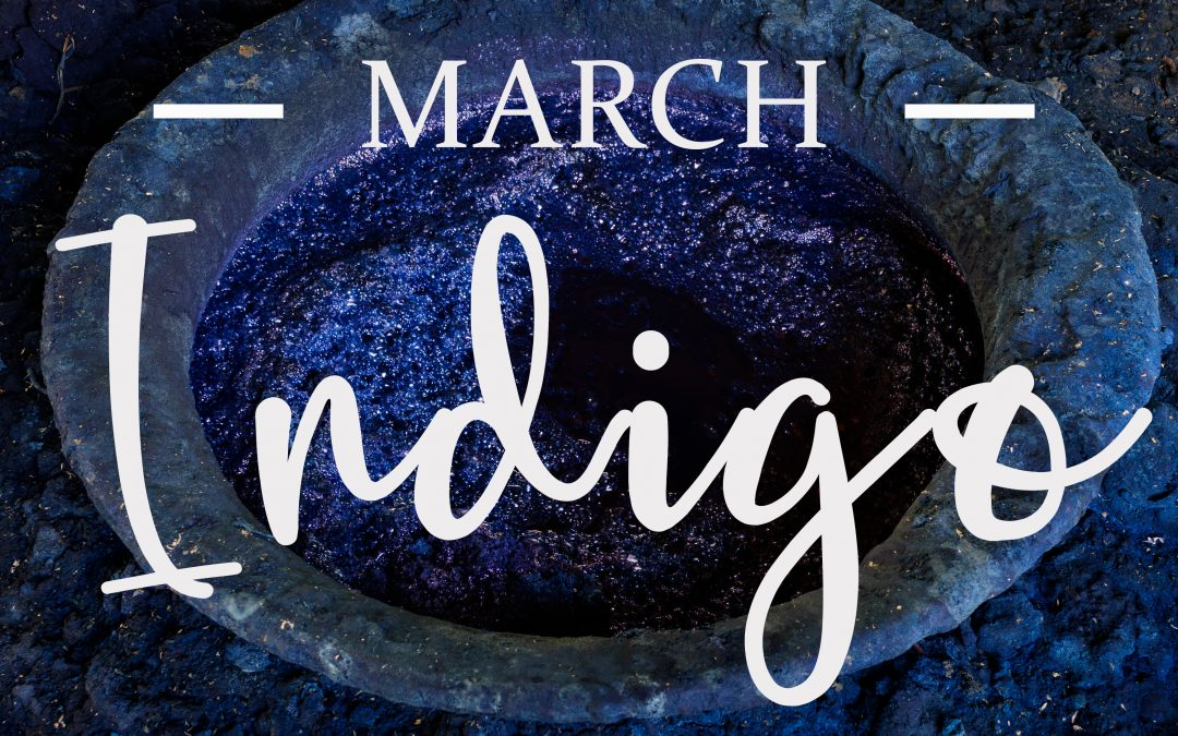 March Colour Message: Indigo